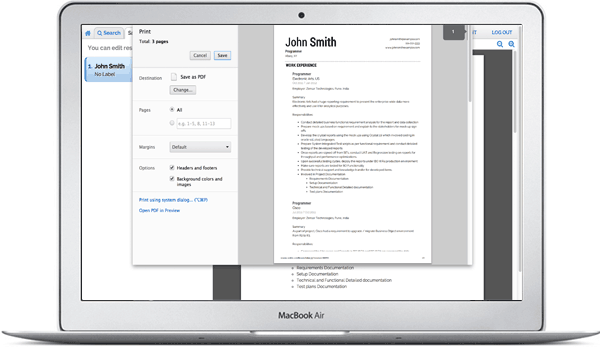 you may also create a trackable link to the resume and pitch it to employers you can get notified when someone visits your resume